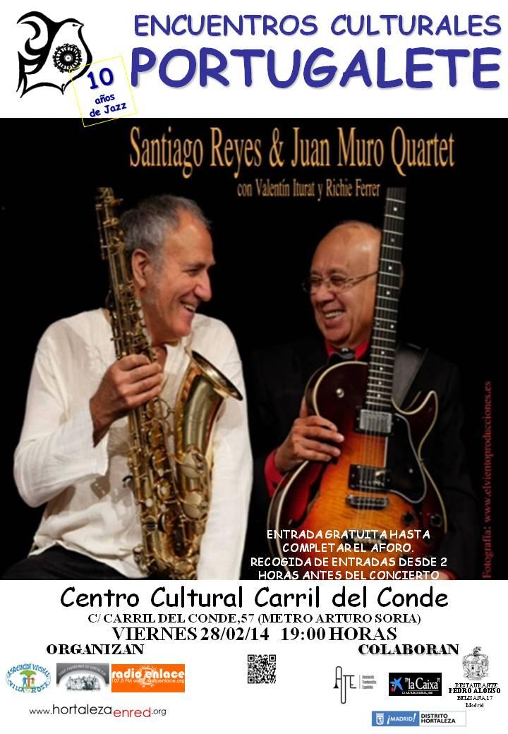 SANTIAGO REYES & JUAN MURO QUARTET